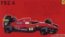 Fujimi GPSP-8 1/20 Model Formula One F-1 Kit Ferrari F92A-T Late Type Clear Body