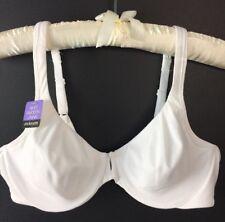 67f7105814 Bali Bra Size 36C Beauty by Bali 3383 B543 Full Figure White Underwire New  C21