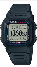 Casio  W-800H-1AVDF  Men's  Alarm  Chronograph  Digital  Sport 100m Watch  W800