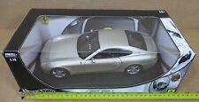 "Hot Wheels Ferrari Enzo 612 Scaglietti Silver Car Die-Cast 1:18 Scale 10½"" NEW"