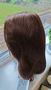 Human hair wig (trendco) = Amber