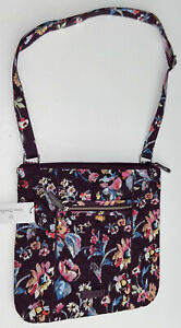 Vera Bradley Iconic Hipster Crossbody Bag, INDIANA ROSE, New With Tags