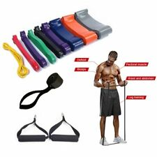 Heavy Duty Resistance Band Pull Up Loop Strength Gym Fitness Latex