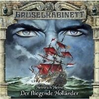 GRUSELKABINETT 22 - DER FLIEGENDE HOLLÄNDER  CD NEU