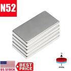 1-50Pcs N52 20x10x2mm Neodymium Block Magnet Super Strong Rare Earth Magnets Lot
