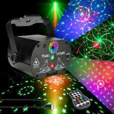 240 Laser Projektor RGB LED Xmas Party Disco Bühnenlicht Bühnenbeleuchtung USB