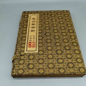 """Old antique Chinese book""""Ghost Valley Fortune telling Technique""""Four books a set"""