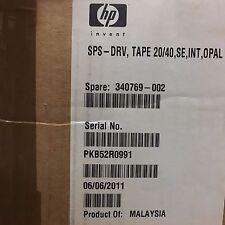 Compaq SPS Cassette 20/40 pkb52r0991 340769-002 20/40GB DLT interne DAT Lecteur