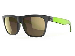 Sundog AMP Polarized Sunglasses (Brown (Lt. Gold Mirror) Polarized Matte) NEW