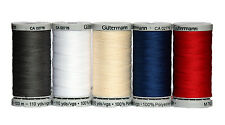 Gutermann Extra Strong Upholster Thread ( 5 Assorted Colour Set) 100% Polyester