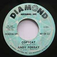 Hear! Northern Soul Popcorn Promo 45 Andy Forray - Copycat / Monday (Is The Girl