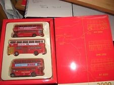 EFE 99921 Millennium Bus Set RT RM Routemaster DMS London Transport  Museum
