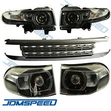For 2007-2015 Toyota FJ Cruiser LED Halo Headlight (with Grille and tail light)