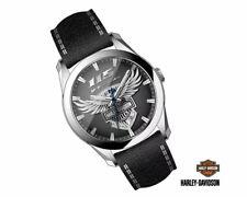 Harley-Davidson® Mens 115th Anniversary Limited Edition Watch Bulova Eagle