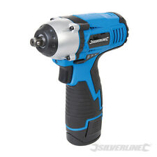 Silverline 10 8v Lithium Li Ion 3 8 Drive Cordless Impact Wrench Ratchet