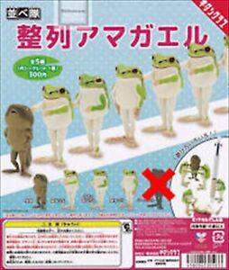 Narabetai Seiretsu Tree frog Figure Normal set 4 types kitan Clube Capsule toy