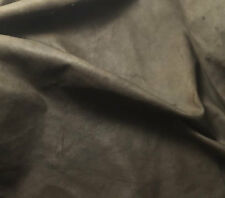 MEDIUM BROWN Goatskin Leather Hide Piece #8