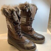 Northside Bishop Snow Boot - Women's Size 7- Brown, New
