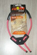 APEX GEAR Pink/Black ATTITUDE BOW SLING Fits All Bows AG441PB Cord TRUGLO *NEW*