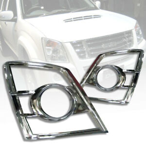 COVER HEADLIGHT FRONT LAMP CHROME FOR ISUZU D-MAX DMAX 2007 08 09 10 11