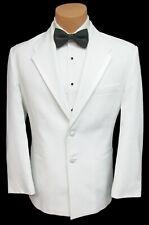 Boys Size 4 White Oscar de la Renta Tuxedo Dinner Jacket Wedding Ringbearer
