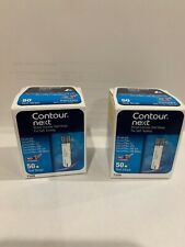 100 Contour NEXT Test Strips - 50 Count (2 Box of 50) *NEW*