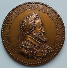 Médaille HENRI IV . L' artillerie IOVIS ARMIGER ALES