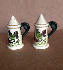 HOMESTEAD PROVINCIAL Salt & Pepper Shaker METLOX Poppytrail Vernon 1950-1982