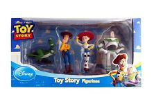 Disney Toy Story Figure Rex, Woody, Jessie And Buzz  4 pcs set Figurines NEW