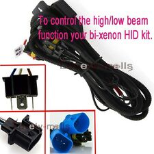 PREMIUM 9007 BI XENON HID RELAY HARNESS WIRING FUSE HI/LO 9004 CONTROLLER 1 X