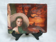 Gone With The Wind Pride of Tara Dreams Remembered Bradford Exchange L/E Plate