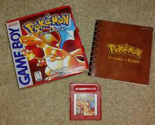 Pokemon Red Nintendo Game Boy CIB Complete original (authentic)