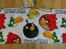 ANGRY BIRDS Flat Sheet for TWIN BED 2012 Cotton Blend Hal Chuck Terance