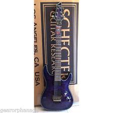 Schecter Hellraiser C-1 FR PBQ Purple Blue Quilt EXCLUSIVE Guitar + GIG BAG C1