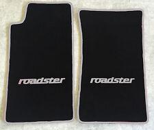 Autoteppich Fußmatten für Mazda MX 5 NA roadster schwarz silber 2teilig Neuware