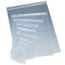 Clear Plastic Ziplock Reclosable Poly Seal Top Bags Coins/Jewelry Small-Large