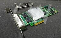 INTEL EXPI9404PTG2L20 PRO/1000PT QUAD PORT Gigabit Ethernet PCIe Network Adapter