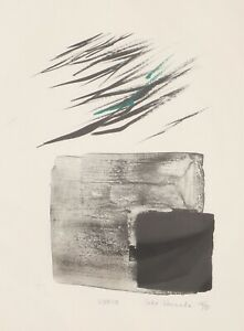 Toko shinoda - lithography signed and numbered by hand by the japanese artist To