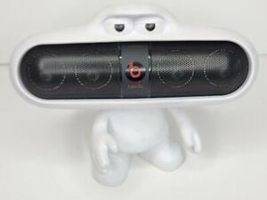 Beats Pill B0513 Black Portable Bluetooth Wireless Speaker FOR PARTS  W/ Holder