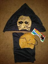 New Lot of 2 Goblin Masks The Walking Dead Costumes Walkers Old Man Witch Zombie
