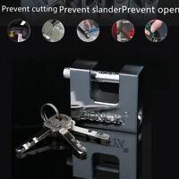 40mm~70mm Heavy Duty Anti Rust Shutter Padlock High Security Shackle Lock 3 Key