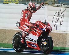Nicky Hayden signed 10x8 Image A photo UACC Registered Dealer AFTAL RACC Trusted
