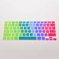 Flexible Silicon Keyboard Cover Keypad Skin for Mac Macbook Air Pro 13 15 17 FL