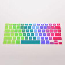 "Silicone Rainbow Keyboard Skin Cover For Macbook Air Mac 13""15""17"" m´ñ jc jC"