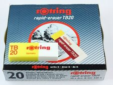 Rotring Rapid Eraser TB20 - Combined Ink & Pencil Eraser - Bulk Pack 20