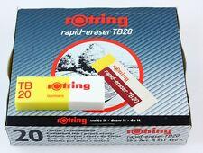 Rotring Rapid Eraser TB20 - Combined Ink & Pencil Eraser - Bulk Pack 20
