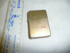 VINTAGE STORM KING ALUMINUM CIGARETTE LIGHTER NEEDS FLINT