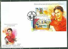TOGO 2014 60th MEMORIAL ANNIVERSARY OF FRIDA KAHLO S/S  FIRST DAY COVER