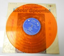 2 LOVIN' SPOONFIULL LP Daydream Orange Vinyl & What's Shakin IMPORT EX/VG