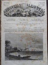 L'UNIVERS ILLUSTRE 1874 N 980 L'ILE SAINTE- MARGUERITE LIEU DETENTION DE BAZAINE
